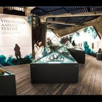 """Estonie - Exposition """"Les trésors de l'Âge Viking"""", à la Tour Grosse Marguerite en 2017"""