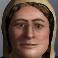 Reconstruction du visage d'une femme viking