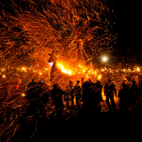 Festival de l' Up Helly Aa à Lerwick