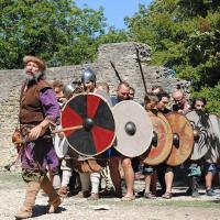 Fete viking du chateau de fallavier