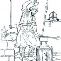 Forgeron viking