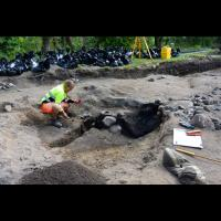 Fouilles archéologiques à Kaupang - Photo: vikingbyen.org