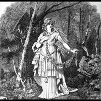 Freyja - Illustration: Carl Emil Doepler