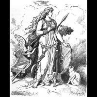 Freyja - Illustration Johannes Gehrts