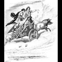 Freyr et Skirnir, par Carl Emil Doepler