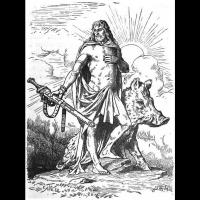 Freyr - Ilustration: Johannes Gehrts