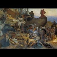 Funérailles d'un noble Rus' - Tableau: Henryk Siemiradzki