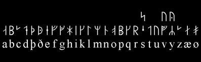Runes médiévales - Image: Wikipédia suédois