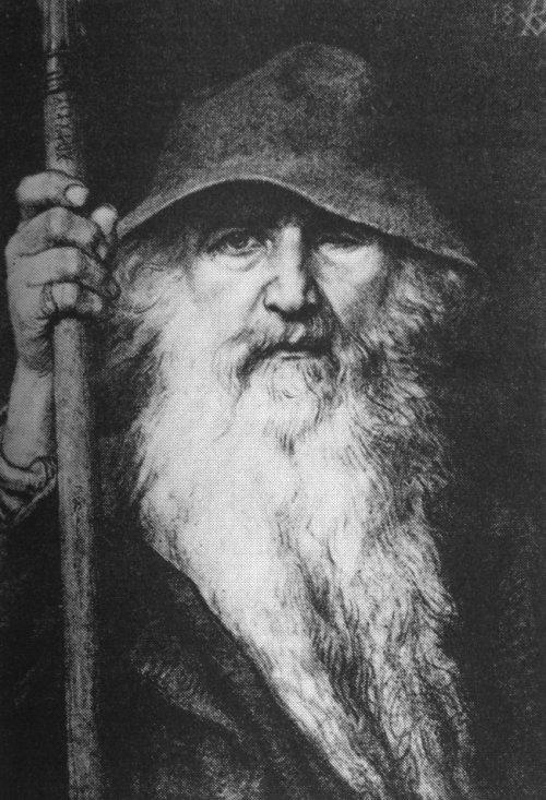 Georg von rosen oden som vandringsman 1886 odin the wanderer