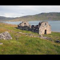 Vestiges de l'Eglise de Hvalsey, Groenland