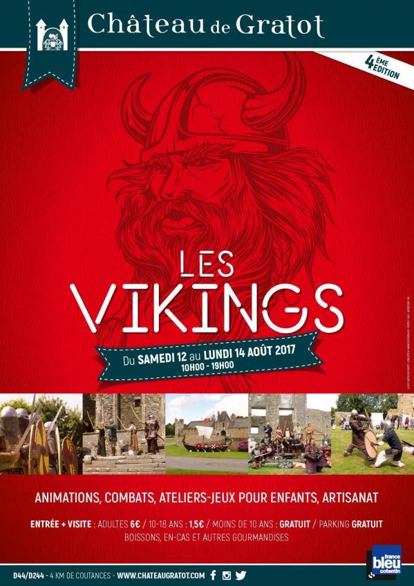 Chaâteau de Gratot - Les Vikings, 4ème édition