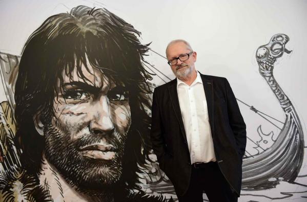 Grzegorz rosinski le 24 mars 2015 - Photo Emmanuel Dunand pour l'AFP