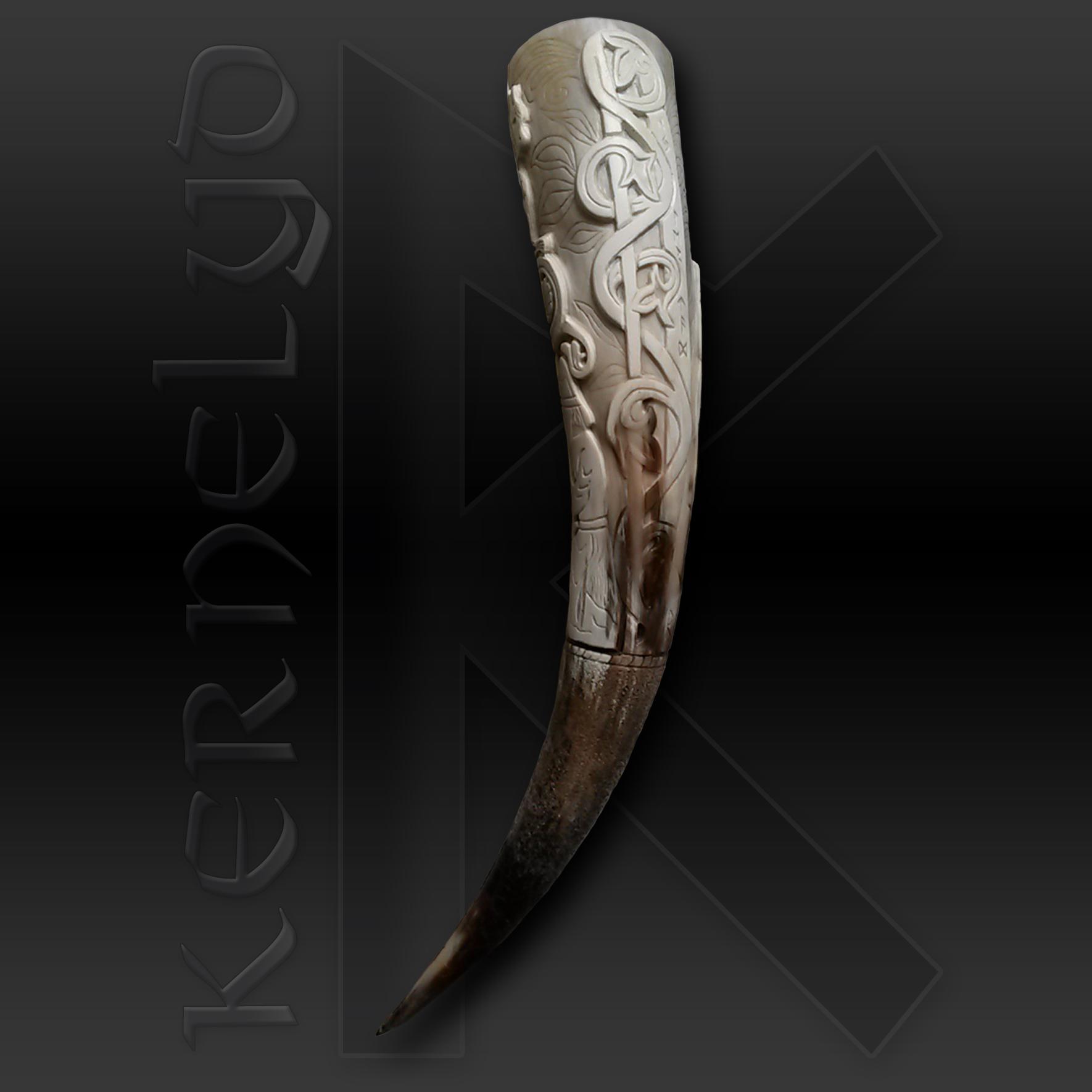 Hylestad II: Sigurd léchant le sang du dragon Fafnir sur ses doigts
