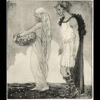 Idunn et Loki - Illustration: John Bauer