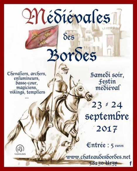 Médiévales des Bordes 2017