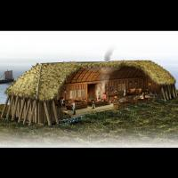 Agencement d'une maison viking