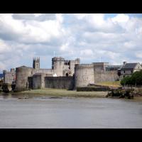 Château du roi Jean à Limerick, Irlande