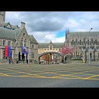 Dublinia Museum et Christ Church à Dublin, Irlande