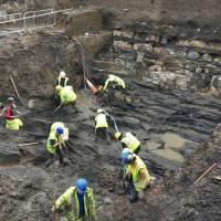 Irlande - Les fouilles archéologiques font apparaître les réelles dimensions de la première colonie viking de Dublin- Photo: RTÉ One