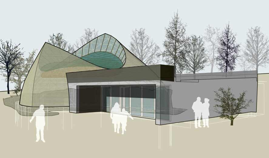 Islande - Architecture du premier temple Ásatrú à Reykjavik - Illustration: Magnús Jensson