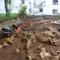 Islande - Découverte des vestiges d'une des plus grandes maisons vikings du pays dans le centre-ville de Reykjavík
