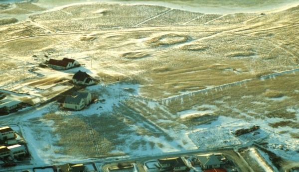 Les anneaux indiqueraient les vestiges de colonies irlandaises à l'Âge viking en Islande - Photo par Þorgeir Helgason