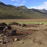Islande le site de sto varfjor ur