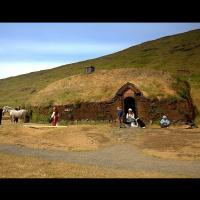 La ferme d'Eirik le Rouge à Búðardalur, Islande