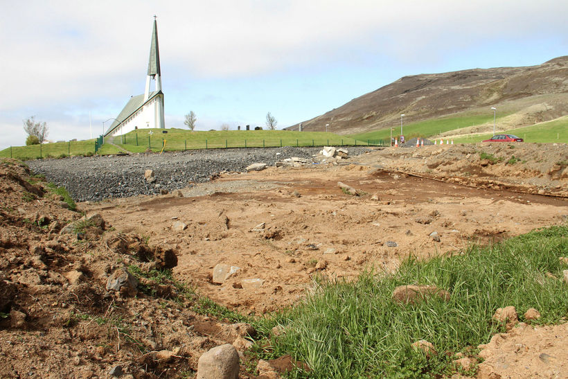 Islande - Un nouveau archéologie près de Reykjavík - Photo: Ragnheiður Traustadóttir