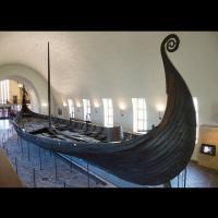 Le bateau d'Oseberg au Musée des Bateaux vikings d'Oslo - Photo: Omar Marques /Anadolu Agency