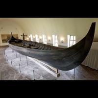 Le bateau de Gokstad au Musée des Bateaux vikings d'Oslo - Photo: Bjørn Sigurdsøn