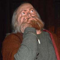 Le mannequin de Snorri Sturluson au Saga Museum, à Reykjavík