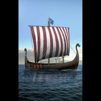 Le navire viking Gungnir