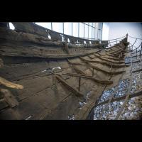 Le Skuldelev 5 - Photo Musée des Navires vikings de Roskilde