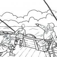 Leif Erikson découvre l'Amérique du Nord