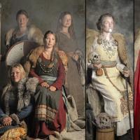 Les femmes à l'Âge Viking vues par Jim Lyngvild et la couturière Savelyeva Ekaterina - Photos Jim Lyngvild