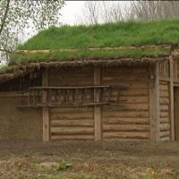 Maison viking reconstituée au Parc Ornavik