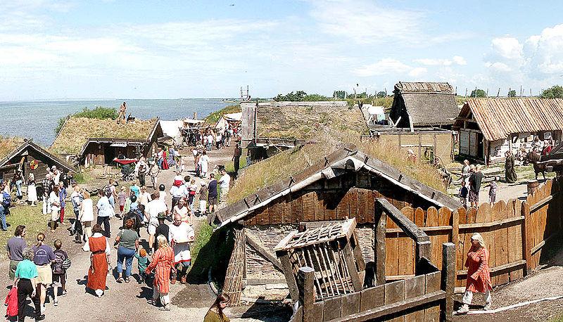 Marché viking du musée de Foteviken