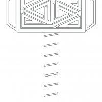 Mjölnir, le marteau de Thor