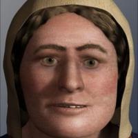 Modélisation 3D du visage d'une femme viking à partir d'un crâne découvert à York - Photo: Université de Dundee
