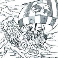 Aegir, géant personnification de la mer