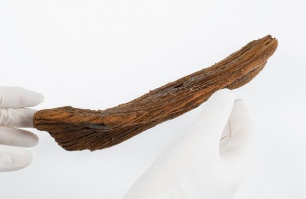 Norvège, découverte d'un bateau jouet - Åge Hojem pour NTNU Vitenskapsmuseet