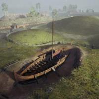 Norvège - Le bateau-tombe de Gjellestad - Illustration: www.gjellestadstory.com