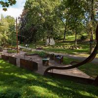 Norvège - Le jardin viking au Jardin botanique d'Oslo - Photo: Playcreate design