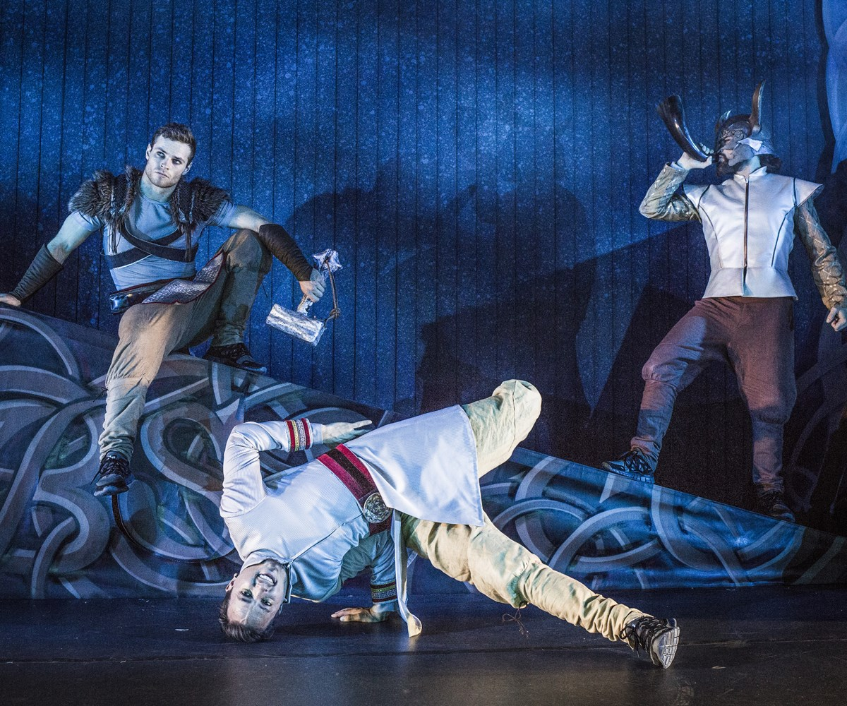 Norvège - Norr, le spectacle de breakdance qui revisite la mythologie nordique