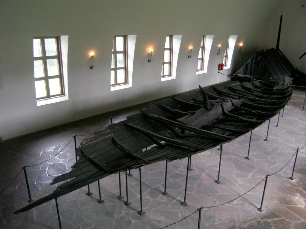 Le bateau de Tune au Musée des Navires vikings à Oslo