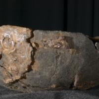 Norvège - Une coupe de l'Âge Viking, en pierre ollaire,  un matériau très utilisé pour les ustensiles de cuisine, trouvée à Kaupang, Vestfold - Photo: Eirik Irgens Johnsen / UiO