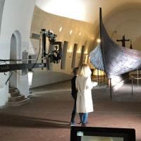 Norvège - Le Musée des Navires vikings teste une nouvelle animation