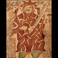 Odin, le dieu aux corbeaux - Illustration Ólafur Brynjúlfsson