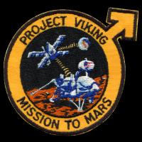 Patch du projet viking de la nasa en 1974